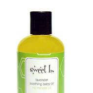 Lavender Soothing Baby Oil